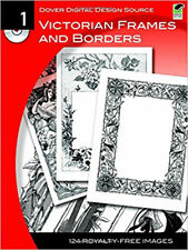Dover Digital Design Source: Victorian Frames and Borders No. 1 (Dover Electroni