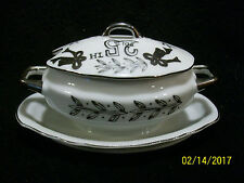 Lefton China 25th Anniversary Miniature Porcelain Gravy Boat #5722