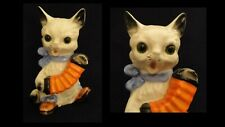 Goebel Perfume Lamp - Cat with Concertina ET 20 - TMK 1&2