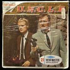 Vintage SAWYERS VIEW MASTER STEREO PICTURES - The Man From U.N.C.L.E. 1966