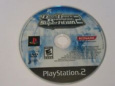 Dance Dance Revolution SuperNova 2 (Sony PS2, 2007) Disc Only