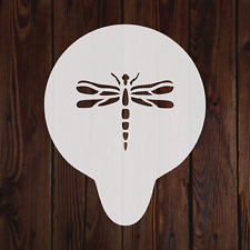 Dragonfly mylar stencil nature wall art paint crafting art decorating flexible