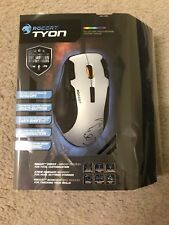 ROCCAT - TYON Laser Multi-Button Gaming Mouse - White BRAND NEW FREE MOUSE PAD!!