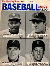 1968 Detroit Tigers - The Sporting News Baseball Guide EXCELLENT