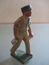 Soldat ancien plomb  KEPI BLEU (cbg xr lr..) ORIGINAL