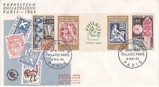 Enveloppe 1er jour FDC 1964 - Exposition Philatélique Paris Philatec