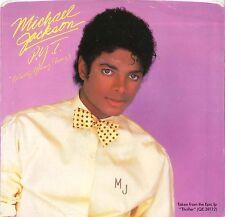 "#21 Michael Jackson P.Y.T (7"" USA Promo Label Blanc - 1983)"