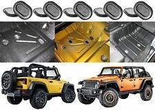 5-Pack 55397226AA Floor Drain Plugs For 1999-2017 Jeep Wrangler New Free Ship