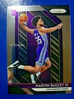 2018-19 Panini Prizm Basketball #181 Marvin Bagley III RC Sacramento Kings