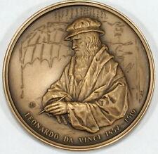 Poland, Polish medal - LEONARDO DA VINCI