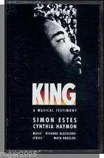 King: A Musical Testimony - New 1990 Simon Estes Theatrical Event Cassette Tape!