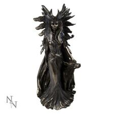 HEKATE GREEK GODDESS OF MAGIC COLD CAST BRONZE .GREAT DETAILS.