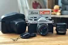 ASAHI Pentax K 1000 mit zwei Objektiven SMC 1:1.4/50mm und Tokina 1:2.8/24mm