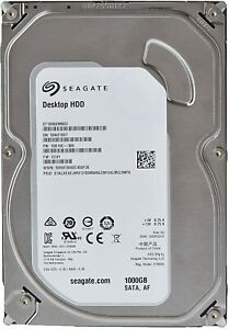 "Seagate Barracuda 7200RPM 1TB 3.5"" SATA HDD 6.0Gbps ST1000DM003 (BULK OEM)"