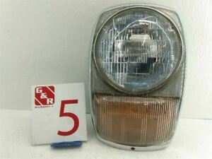 1974 MERCEDES 280 114 115 PASSENGER RIGHT HEADLAMP LIGHT ASSEMBLY W TURN SIGNAL