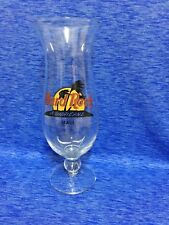 Hard Rock Cafe Maui Hurricane Glass w/ Classic HRC Logo Palm Trees