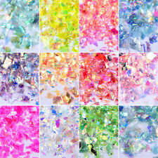 2g New 3D 13 Colors Options Ab Thin Glitter Shell Flakes Sequins Nail Art Decor
