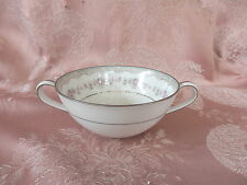 NORITAKE  GLENWOOD  2 Handled  SOUP  Coupe  TRIM DIFFERENCE    # 5770