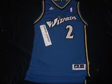 Washington Wizards Adidas John Wall Jersey Youth Medium Sewn Replica