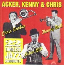 Acker Bilk - Acker, Kenny & Chris CD Brand New & Factory Sealed