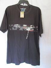 NWT Men's No Bad Days Navy Beach,Patriotic Theme T-Shirt Size Large