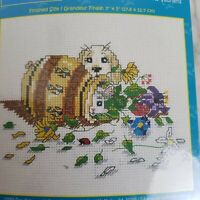 Gary Patterson Cross Stitch Kit Little Rascals 5 x 7 #95-104 Dog NEW Sealed