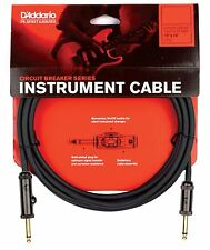 Planet Waves PW-AG-10 10ft Circuit Breaker Guitar Instrument Cable Lead