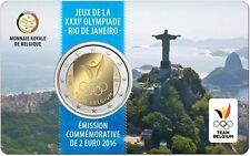 "Belgien 2 Euro 2016 ""Olympische Spiele Rio de Janeiro"""