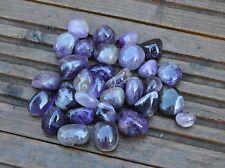 20 Medium Amethyst Tumblestones -- 20mm - 30mm  -- Wholesale Bulk Job Lot Tumble