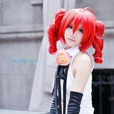 Vocaloid Teto Kasane Red Cosplay Anime Hot hair full wig+ wig cap