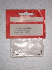 Innensechskantschrauben (Madenschrauben) M2x6 10Stk. Edelstahl #010110