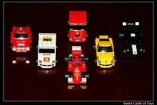 Lego Shell Ferrari Italia Lego V-Power 30190 - 30195 Car Model China Ex Ver.