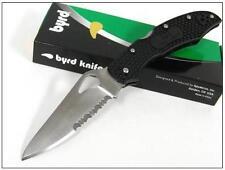 COUTEAU SPYDERCO BYRD Black FRN Cara Cara 2 Knife BY03PSBK2 Acier 8Cr13MoV