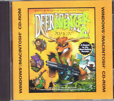 Deer Avenger 2 (PC, 1999, Simon & Schuster Interactive)