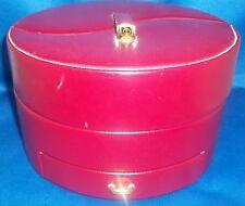 Red Yin-Yang Jewelry Box - Wolf Design