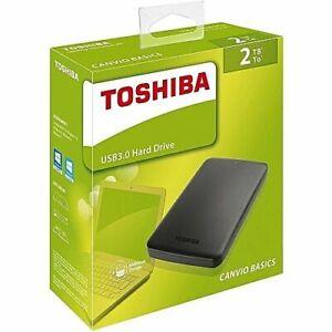 TOSHIBA HARD DISK ESTERNO 2,5 2TB USB 3.0 CANVIO BASIC HDTB420EK3AA