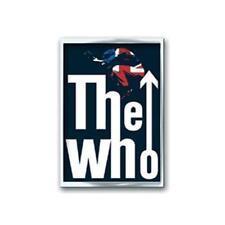 Officiel sous Licence - The Who - Leap Émail Broche Badge Rock Mod Daltrey