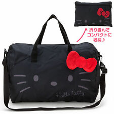 Hello Kitty Carry Shopping Travelling Bag Zipper Women Luggage Bag Hand Bag 18""