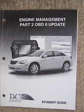 2007 Daimler Chrysler Engine Management Part 2 OBD II Update Training Manual  U