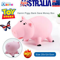 20CM Toy Story Hamm Piggy Bank Coin Save Money Box Ham Figures Pig Kids Gift CE
