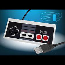 Retro CONTROLLER USB nel NES CLASSIC MINI design per il PC Cavo legato EAXUS