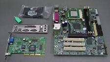 #32 Intel D815EPFV miniATX S370 + Tualatin 1200MHz + 256Mb + Videocard +. *RARE*