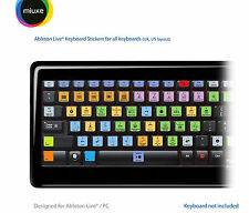 Ableton Live Keyboard Stickers | All Keyboards | QWERTY UK, US
