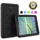 Turtle Skin Shockproof Armor Rugged Cover Case For Samsung Galaxy Tab A 8.0