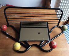 French Retro 60's Atomic Sputnik coat rack with shelf