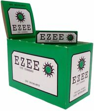 1000 GREAT VALUE EZEE GREEN RIZLA/ROLLING PAPERS 20 PACKS X 50 PAPERS
