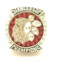 2013 Chicago Blackhawks Toews NHL Stanley Cup Silver Plated Championship Ring
