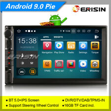 IPS PX5 SWC 2 Din Autoradio For Nissan Android 9.0 Double DAB+GPS OBD BT5.0 8049
