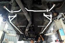 Nissan S13 89-94 UltraRacing 2x 4-punti Side/Floor Barra