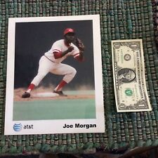Joe Morgan Glossy 8X10 Playing Days Photo by AT&T On Fujifilm Paper-Excellent